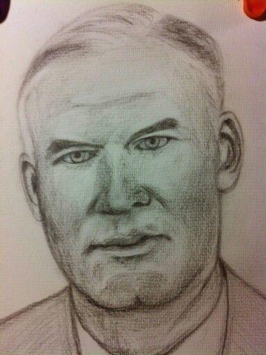 Dad.   Pencil drawing