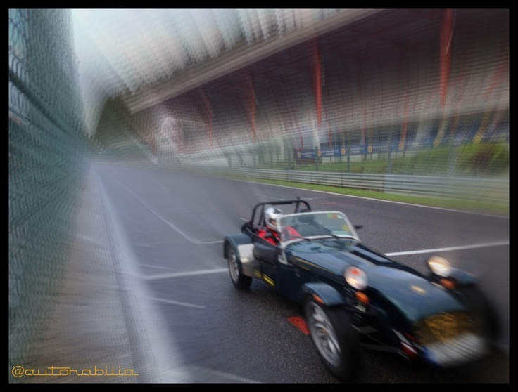 Our effort with Nicks 7,not exactly the right weather conditions for this kind of car..but what an experience!