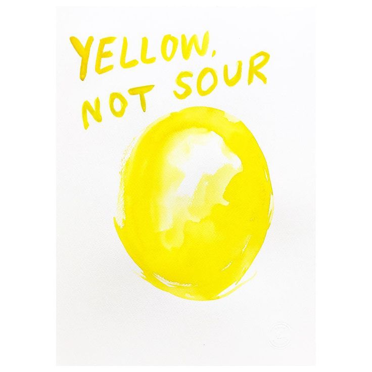 Know the difference! #yellow #sour #perception #whenlifegivesyoulemons