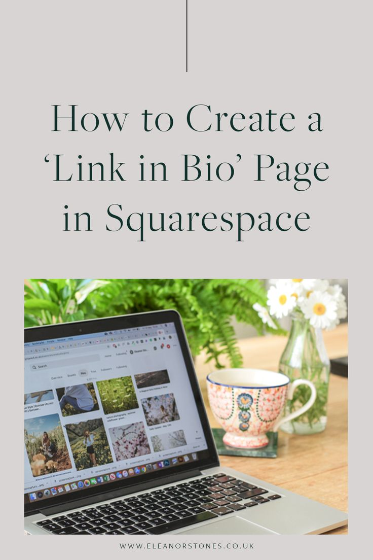 How to Create a 'Link in Bio' Page in Squarespace