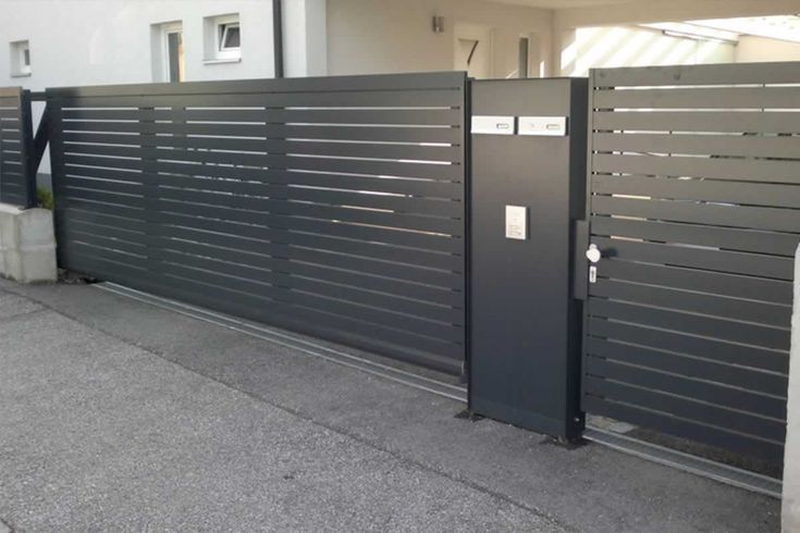 Zaune Metall Blickdicht Nabcd Blickdicht Metall Nabcd Zaune House Gate Design Metal Building Homes Fence
