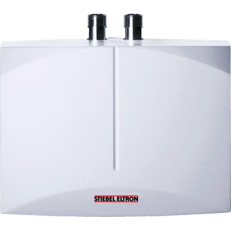 Mit einem modernen Durchlauferhitzer können in manchen Fällen Wasser und Strom und damit auch Kosten reduziert werden. Der Mini-Durchlauferhitzer DHM versorgt z.B. eine Entnahmestelle, an der eher selten und wenig warmes Wasser zur Verfügung stehen muss. Schnell bringt er das Wasser auf Temperatur und das bei einer Warmwasser-Bereitstellung von bis zu zweieinhalb Litern pro Minute. Seine geringen Abmaße ermöglichen eine flexible Montage auch bei beengtem Raum.