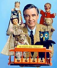 Mr. Rogers's Neighborhood....I always wanted to ride that trolley as a kid! Good for the imagination.