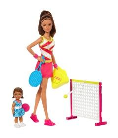 Conjunto-de-Bonecas---Barbie---Barbie-Profissoes---Professora-de-Tenis---Mattel