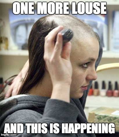 ONE MORE LOUSE AND THIS IS HAPPENING   made w/ Imgflip meme maker -- I made it all by myself!