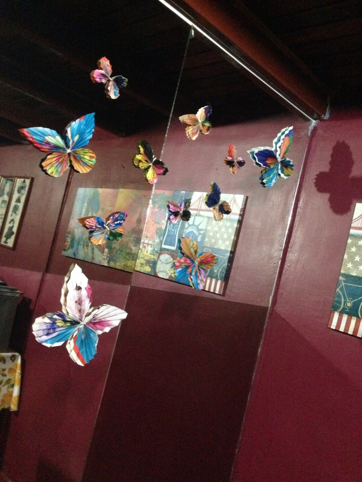 Almost done #paperbutterflies #mariposasdepapel