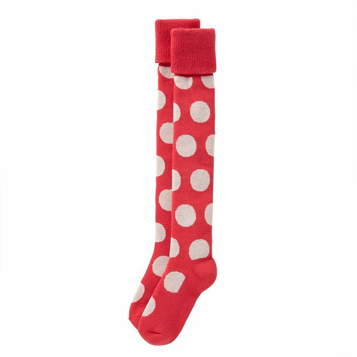 Of all things to be a must buy every time I see socks with dots Tights & Socks | Big Spot Welly Socks | Cath Kidston