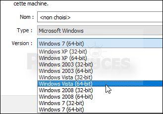 Vous avez installé VirtualBox pour utiliser des machines virtuelles. Or bien que vous soyez sous Windows 64 bits, vous ne pouvez installer que des machines 32 bits ? Pour utiliser des machines 64 bits, vous devez vérifier que les options de virtualisation de votre processeur sont bien activées dans le BIOS et que Hyper-V est désactivé dans Windows.