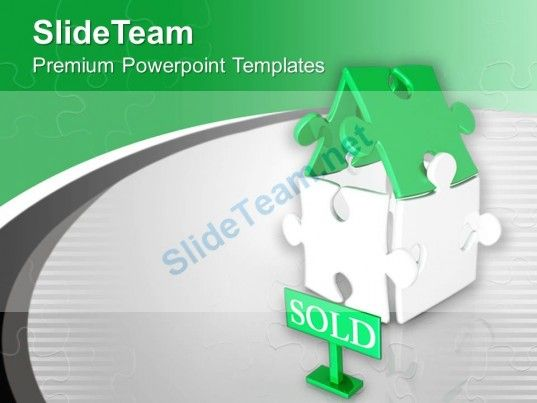 1305 best beautiful powerpoint templates themes backgrounds images beautiful house made by puzzles sold powerpoint templates ppt themes and graphics 0313 powerpoint toneelgroepblik Choice Image
