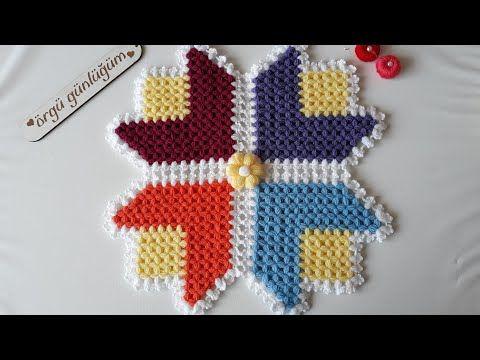 üçgen dilimli lale lif modeli yapımı 🌷🌷🌷 (Kendi uyarlamam) – YouTub…