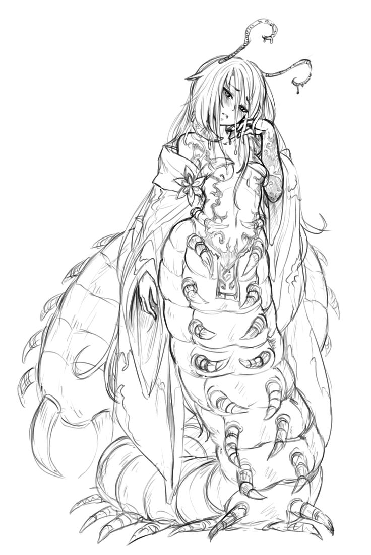 Wikia contains mature content - Oomukade - Monster Girl Encyclopedia