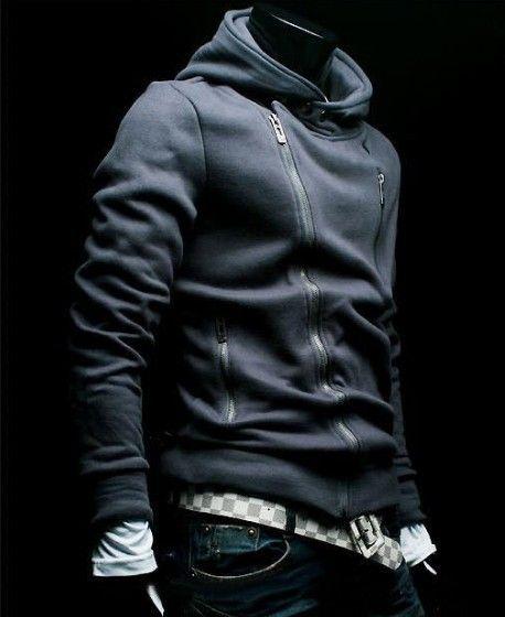 Hoodie: Sweater, Men S Fashion, Mens, Clothing, Casual Styles, Jackets, Cyberpunk Fashion, Coat