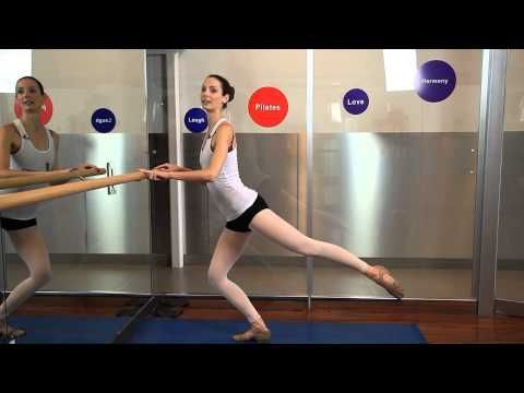 ▶ Barre Method Workouts : Dance & Ballet Conditioning - YouTube