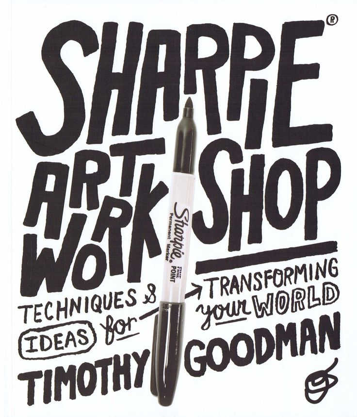Sharpie® Art Workshop - Techniques and Ideas for Transforming Your World bog fra…