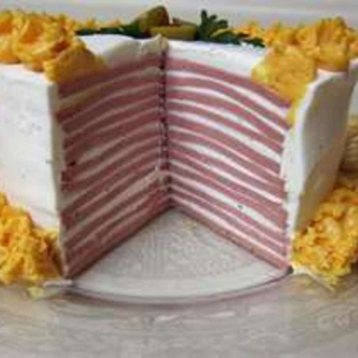 After watching the movie,Sweet Home Alabama, it got me curious as to what a Bologna Cake was. Being as Im from the south i thought it was my duty to b up to speed on all southern cooking. :0) This is not my recipe and will not take credit for it. I found it on another recipe sharing web site, did not list who shared so cant give proper credit.
