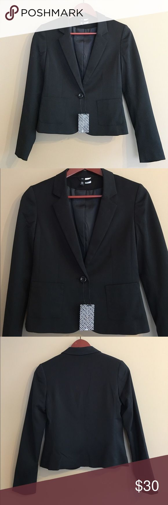 best ideas about structured interview questions h m black blazer nwt