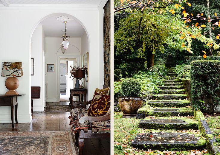 #interiordesign #country #adelaidebragg #design #mtmacedon #entrance #garden
