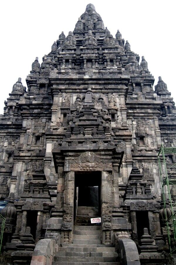 The main temple of The Temple of Prambanan