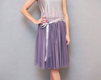 Falda de tul, las mujeres de falda de tul, trajes adultos de la falda de tul, falda de círculo, falda fiesta, falda elástica waistParty falda de Tul