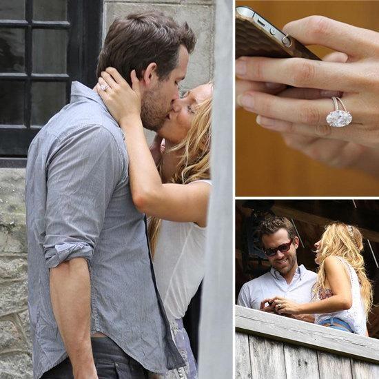Oval Diamond Engagement Ring Blake Lively 20