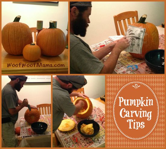 Carve A Pumpkin To Look Like Your Dog — Free Printable Stencils + Carving Tips