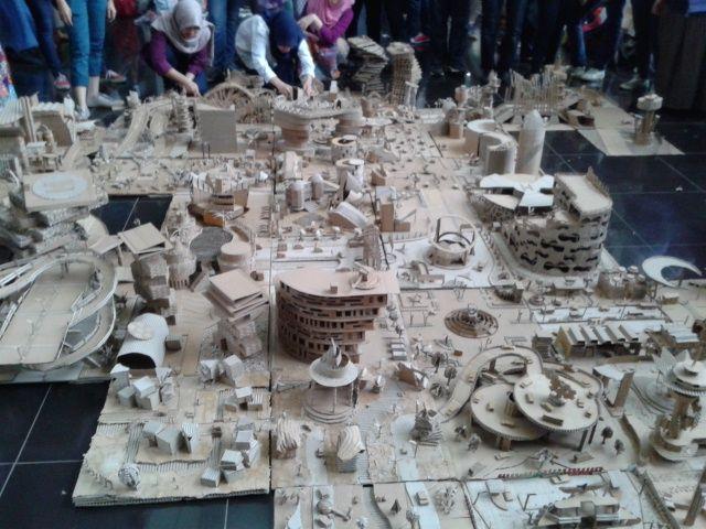 "Maket Kolaborasi ""City of Motion"" angle 1"
