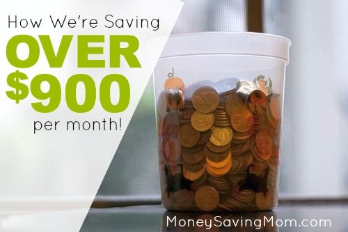 This story of how one family found ways to cut their budget by $900 per month is SO inspiring!