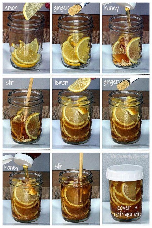 Lemon for Sore Throat