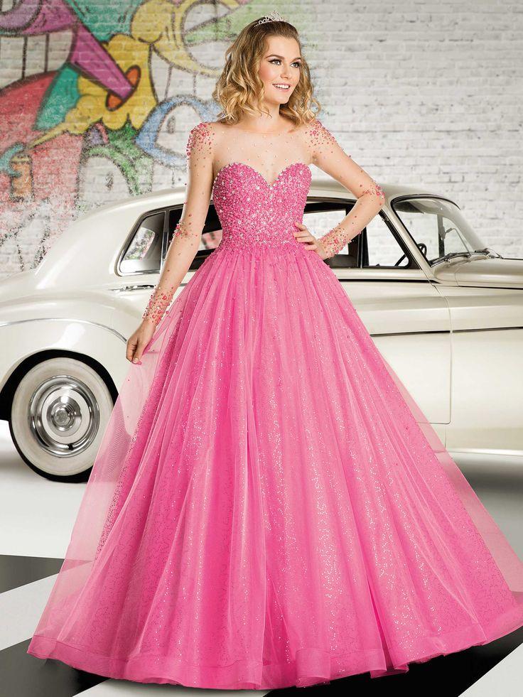 12 best Vestidos de quince años modernos color rosa images on ...