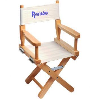 chaise metteur en sc ne enfant personnalis e naturel ecrue pinterest en scene sc ne et. Black Bedroom Furniture Sets. Home Design Ideas