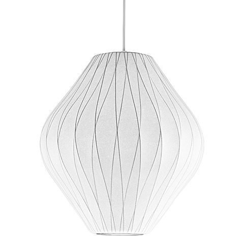 Embrace breathtaking design in your space with the light and airy look of the Replica Nelson Bubble Pendant Light, Criss Cross Pear from Fosani Lighting.