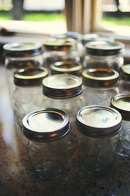 Love mason jars.  Shocking, I know.