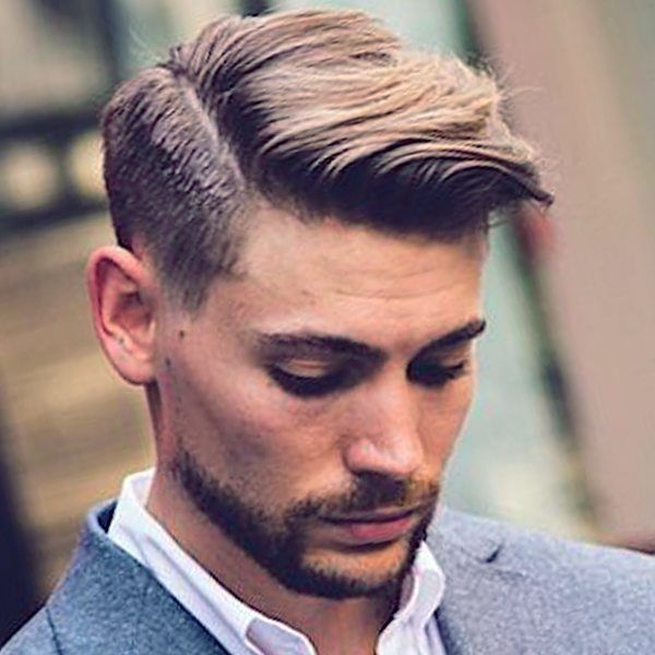 A business hairstyle for men
