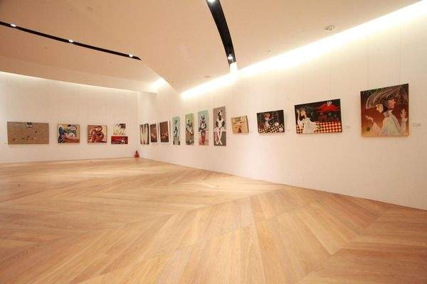 Yelena #Dyumin artworks in a Group Exhibition at BELLAVITA art gallery, Taipei, Taiwan in February 2012