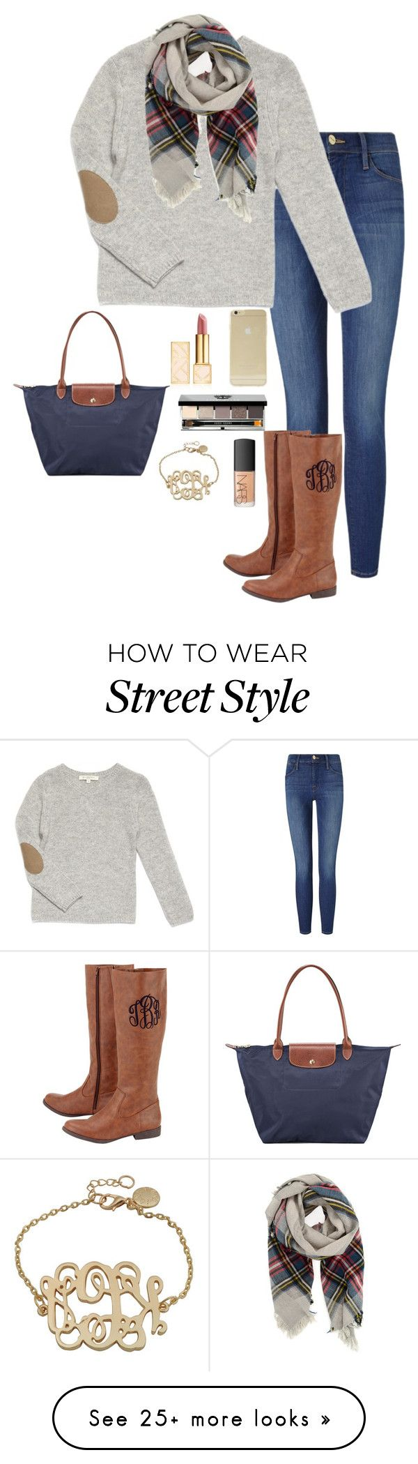 """Almost There!! READ D"" by elizabeth-southern-prep on Polyvore featuring Frame Denim, Forte Forte, Longchamp, Sonix, Tory Burch, Bobbi Brown Cosmetics and NARS Cosmetics"