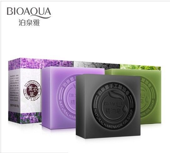 BIOAOUA Natural active enzyme crystal skin whitening soap body skin whitening  #BIOAQUA