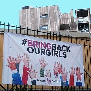 """""""Sono nostre figlie"""". Il Santobono scende in campo per la liberazione delle 300 studentesse nigeriane. Napoli"""