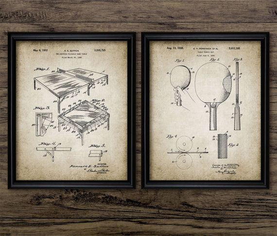 Table Tennis Inventions  Table Tennis Patent by InstantGraphics