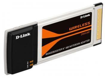 Placa Wireless D-Link DWA-645 PCMCIA - Wireless 802.11N para Notebooks