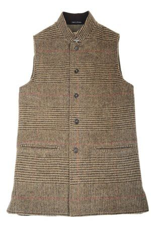Campbell's of Beauly - Tweed Gilet Shetland Glen Check