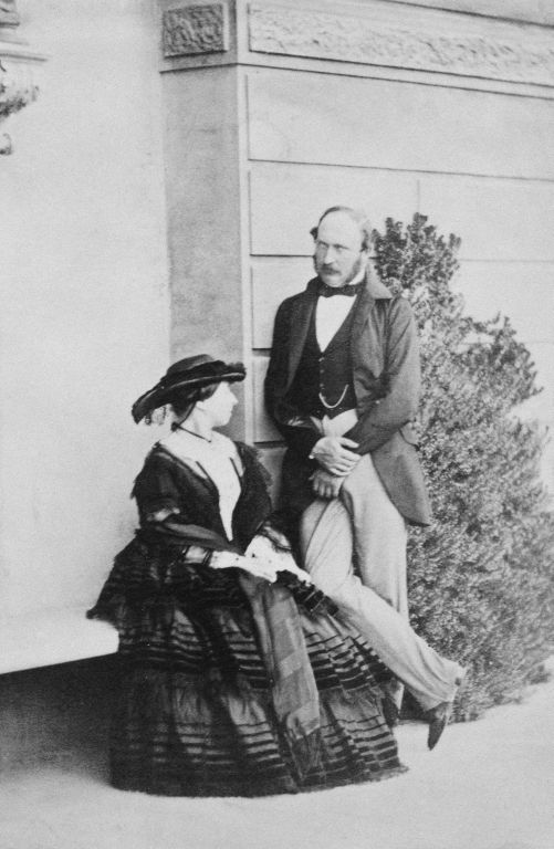 Queen Victoria and Prince Albert, Prince Consort at Osborne House, 1850s | Royal Collection Trust
