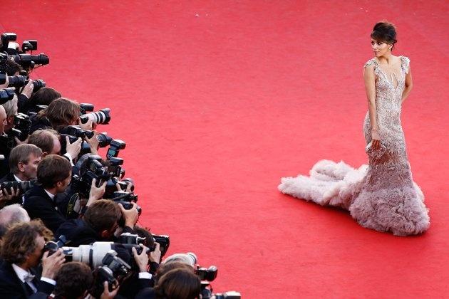 Eva L at Cannes 2012 in MarchesaCannes 2012, Cannes Film Festivals, Open Ceremonies, Festivals 2012, Cannes Gowns, Red Carpets, Marchesa, Eva Longoria, Evalongoria Fashion