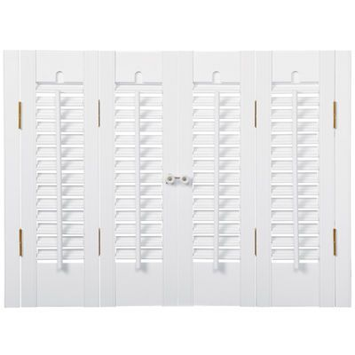 Faux-wood Traditional Shutter