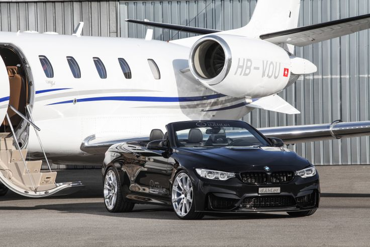 Der offene «Überflieger»M4 Cabrio (F83) als «dÄHLer competition line» Die BMW-Individualisierung aus der Schweiz für das M4 Cabrio (F83) als..