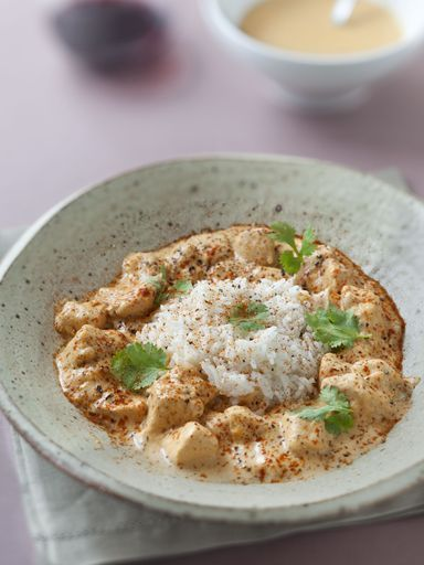 Poulet tandoori au lait de coco ultra facile - Recette de cuisine Marmiton : une recette