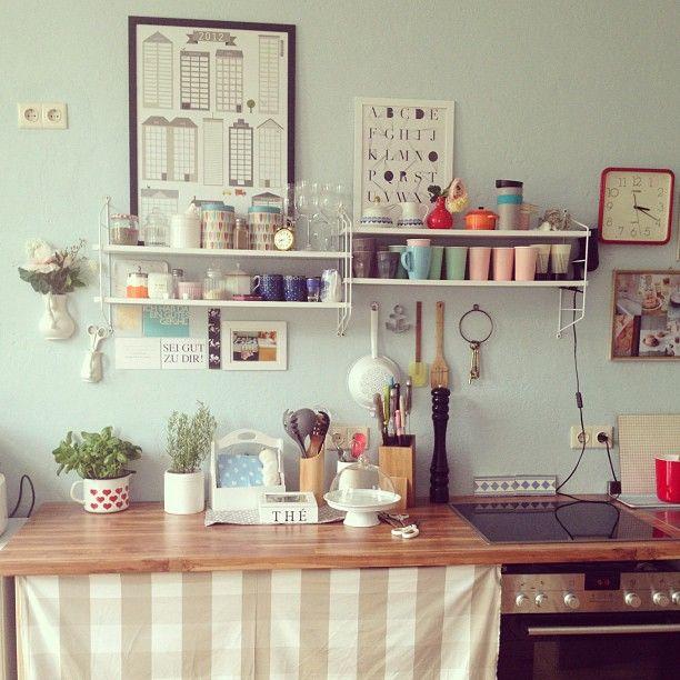 i like the shelves, colors, randomness