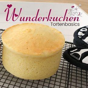 Wunderkuchen! Wenn Sie Motivkuchen lieben, kennen Sie diesen Namen. Das W-Wunder … – Rezepte