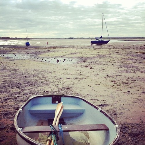 Tide's out at ravenglass on the Cumbrian coast