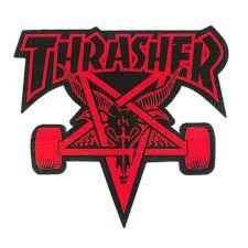 THRASHER SKATE GOAT DIE CUT STICKER
