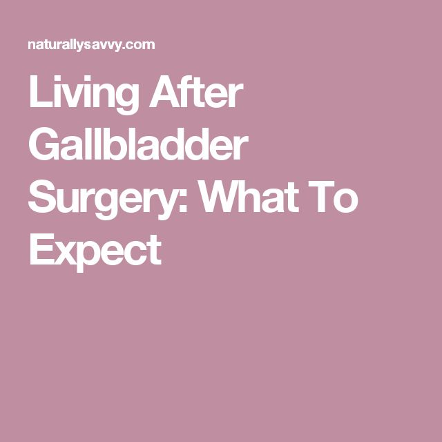 What Foods Can You Not Eat After Gallbladder Surgery